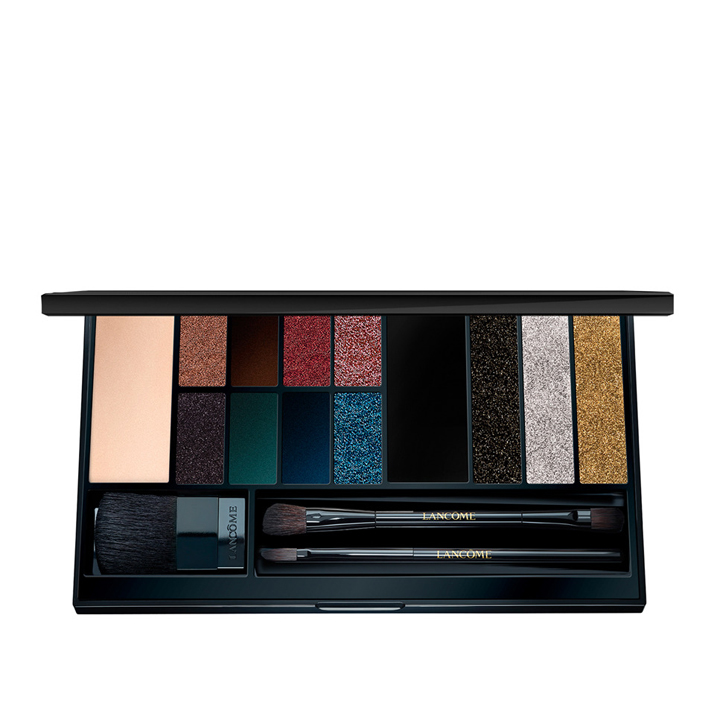Paleta de sombras de ojos Golden Star Palette de Lancôme: look beauty navidades