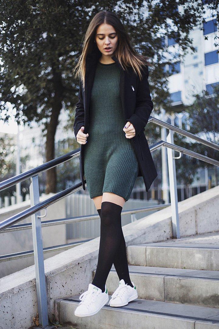 laura escanes con vestido de fórmula joven