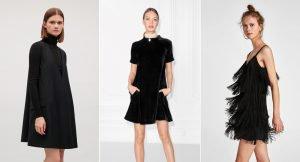 Los mini vestidos negros para este año