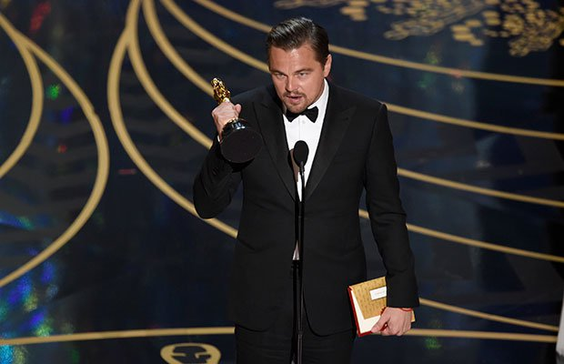¡Sí! ¡Leo ya tiene su Oscar! © GtresOnline
