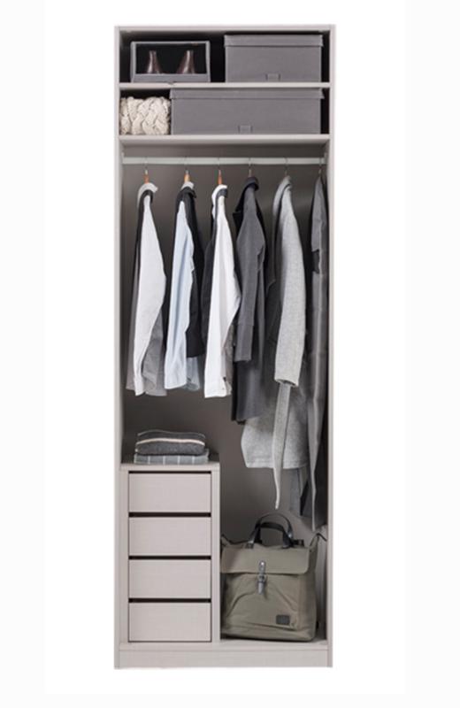 10 ideas sencillas para ordenar tu armario stylelovely - Baneras pequenas leroy merlin ...