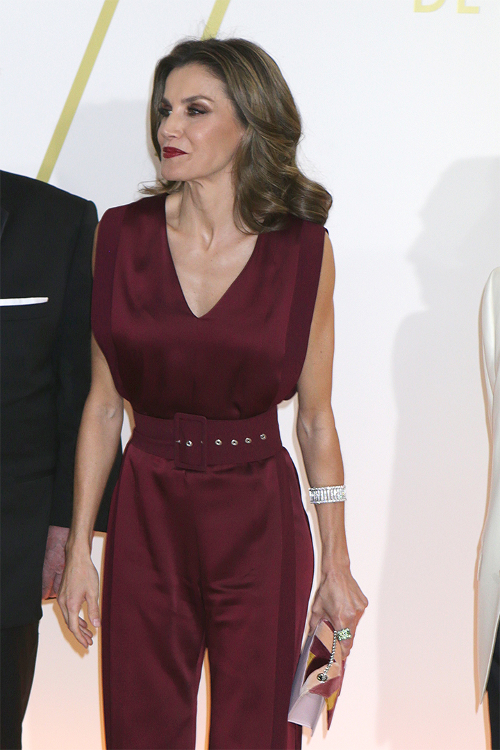 La Reina Letizia con bolso de tita madrid