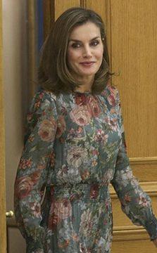 la reina letizia apuesta por las marcas españolas