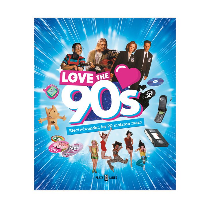 Libro Love the 90s: regalos amigo invisible