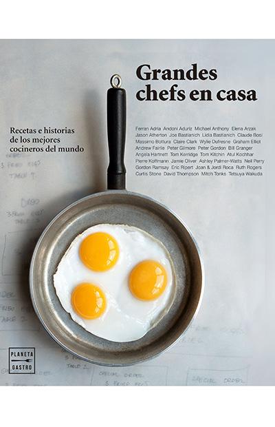 Libros de cocina: Grandes chefs en casa