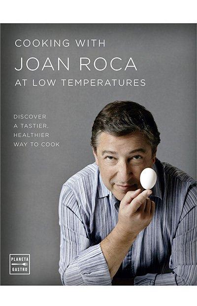 Libros de cocina: Joan Roca baja temperatura