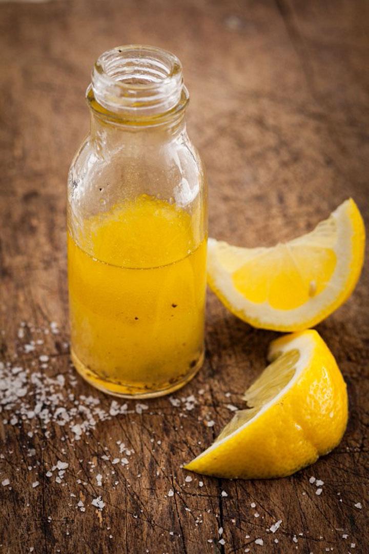 Limpieza de cutis con limón