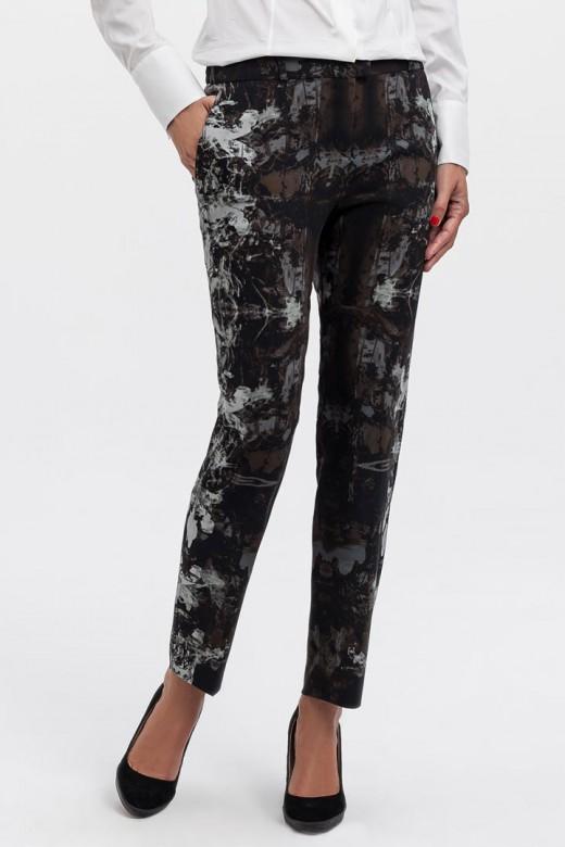 Pantalones estampados de Hugo Boss