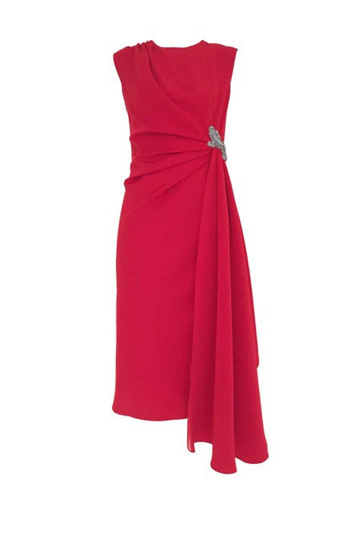 Vestidos rojos para madrina