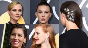 Beauty looks de los Globos de Oro 2018