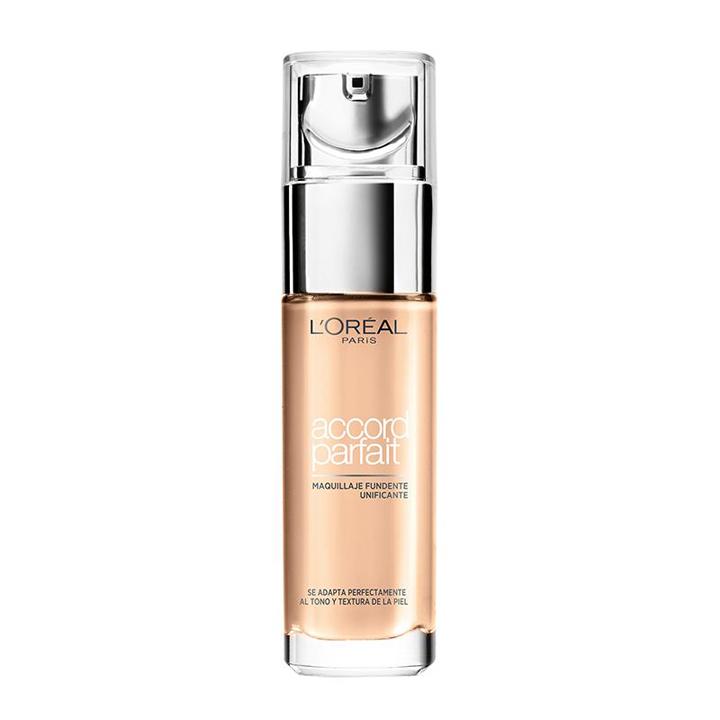 Accord Parfait de L'Oreal: bases de maquillaje 2019
