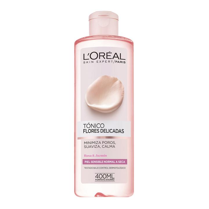 Tónico Piel Normal/Seca de L'Oréal Paris: productos cuidar piel seca invierno