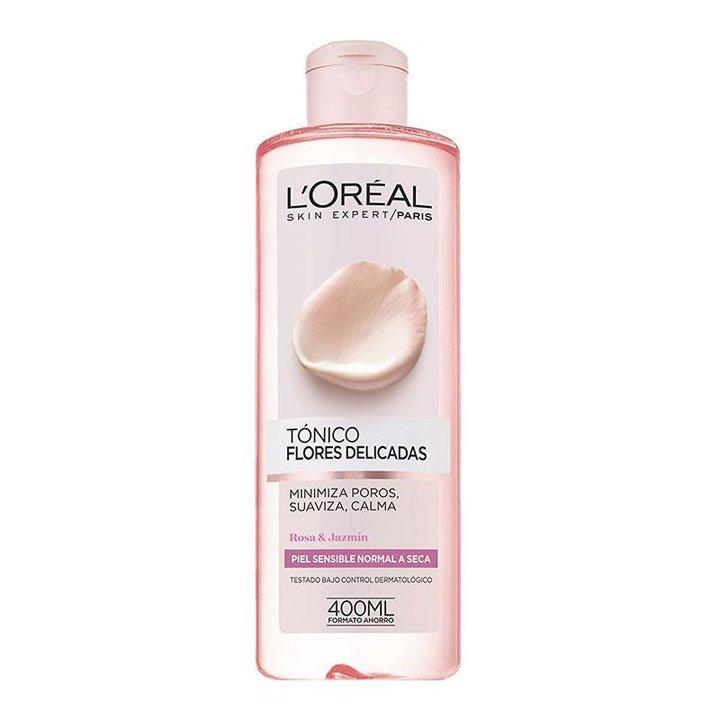 Tónico Piel Sensible Flores Delicadas de L'Oreal: productos beauty pieles sensibles
