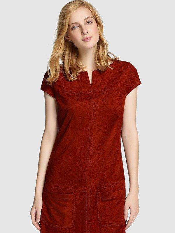 los_colores_otono_2015-vestido_ante_rojo-formula_joven-el_corte_ingles