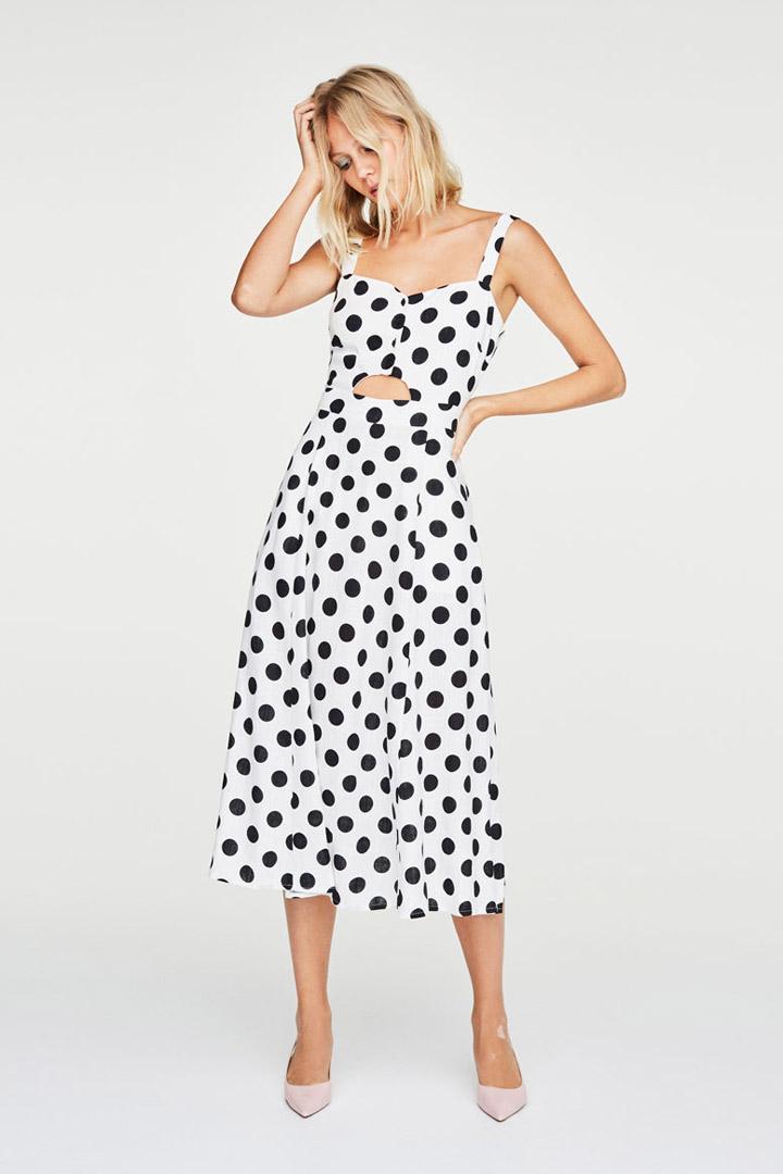 Uterqüe: vestidos de invitada verano