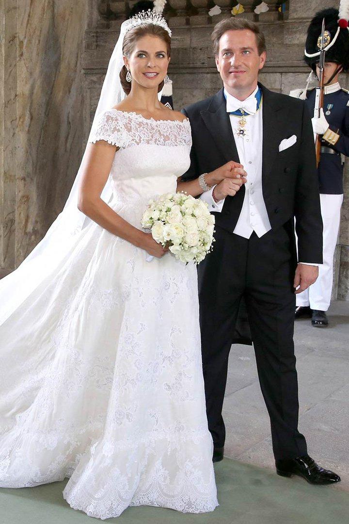 Magdalena de suecia los vestidos de las princesas de valentino