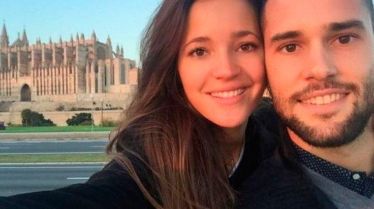 Selfie de Malena y Mario en Mallorca