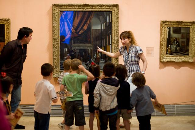 plan niños, museo thyssen, madrid gratis