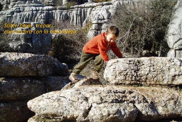 actividades niños, malaga, senderismo