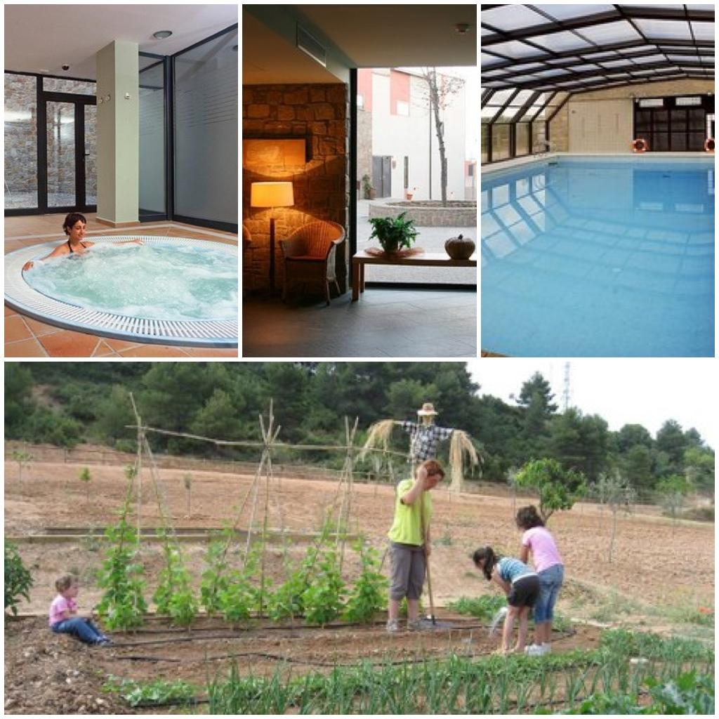 vilars rurals hotel piscina climatizada ni os mamas