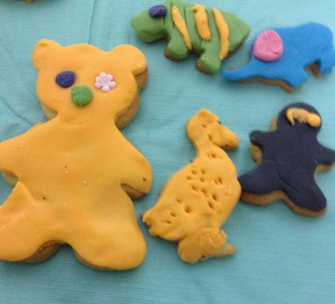 talleres para niños, curso de galletas