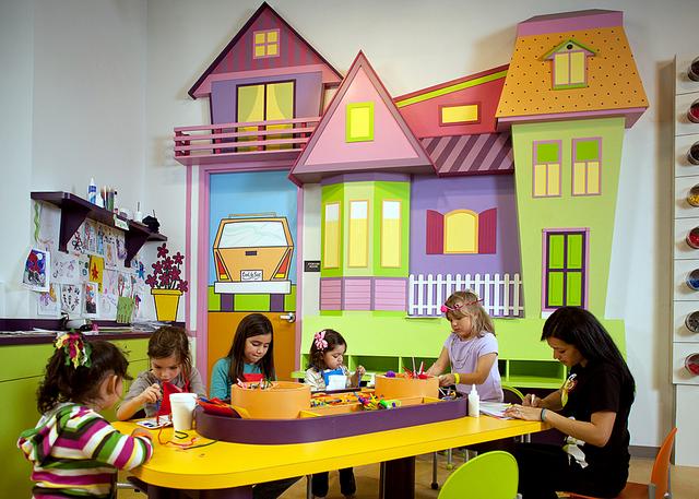 Restaurantes para ni os miami con ni os mamas viajeras for Decoracion de espacios para ninos