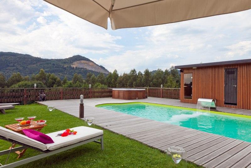 Casas rurales para ni os ea astei hoteles para ni os - Hoteles con piscina climatizada para ir con ninos en invierno ...