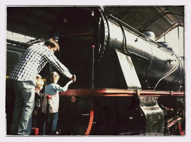 planes con niños en madrid, tren