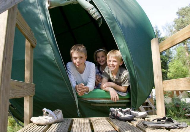 camping para ir con niños