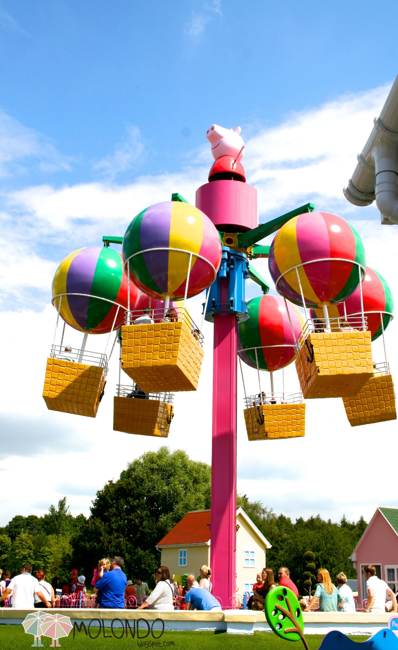 Parque tematico Peppa Pig  Mundo Peppa Pig  MAMAS VIAJERAS