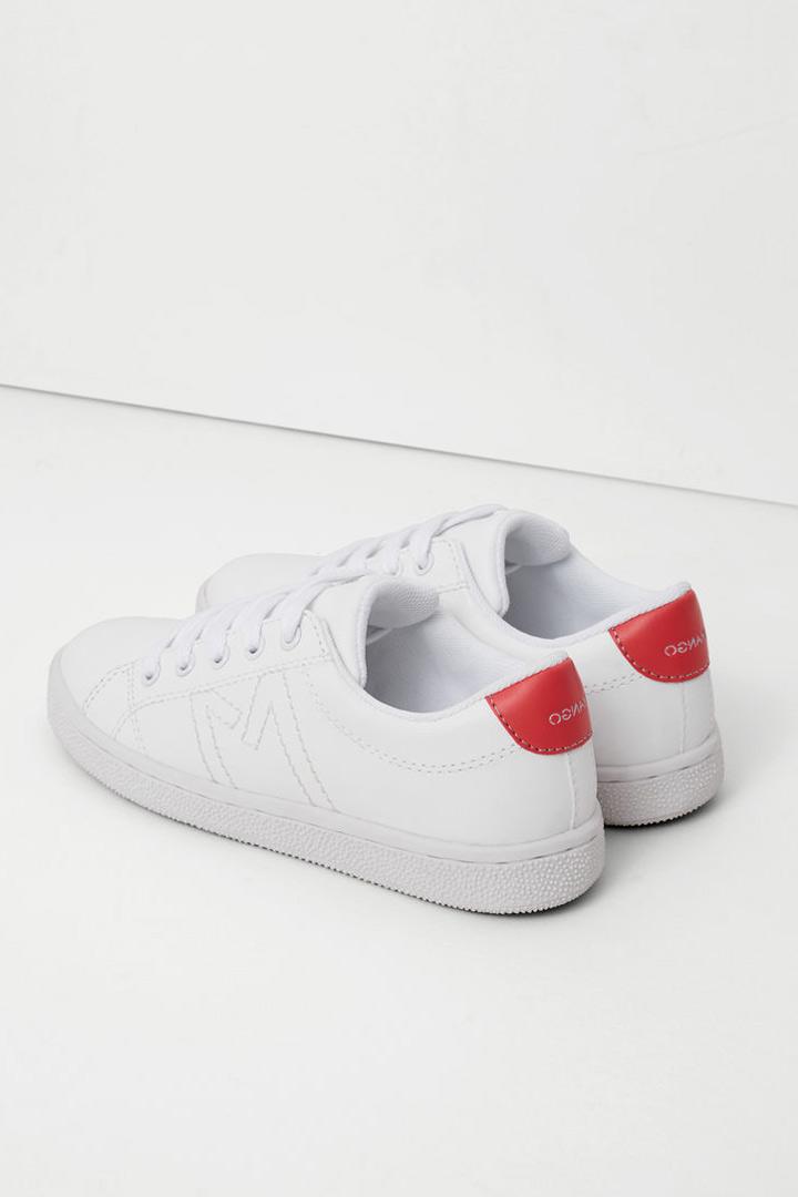 Mango kids otoño zapatillas blancas