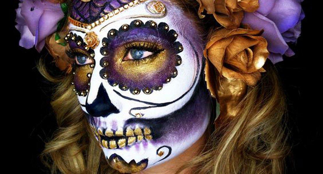 Tenemos para ti el mejor maquillaje para Halloween
