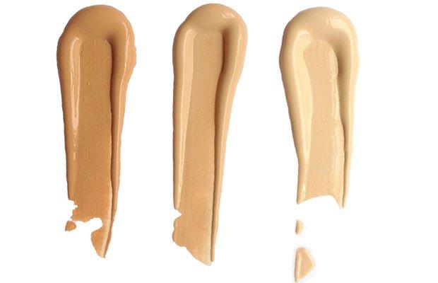 Tres tonos de un maquillaje ligero: BB Cream