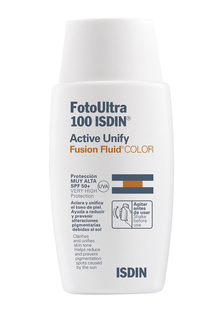 Protección facial con color de Isdin: Maquillaje ligero verano