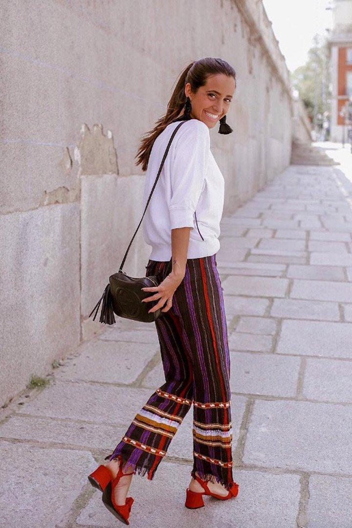 María F. Rubíes nos inspira con un look con maxi-pendientes: Ideas verano 2018