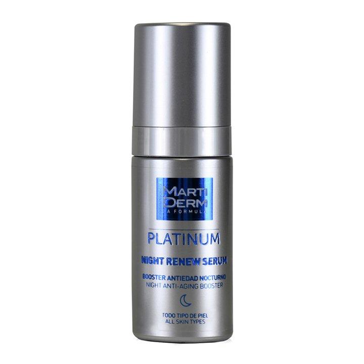Night Renew de Martiderm: productos cuidar piel mientras duermes