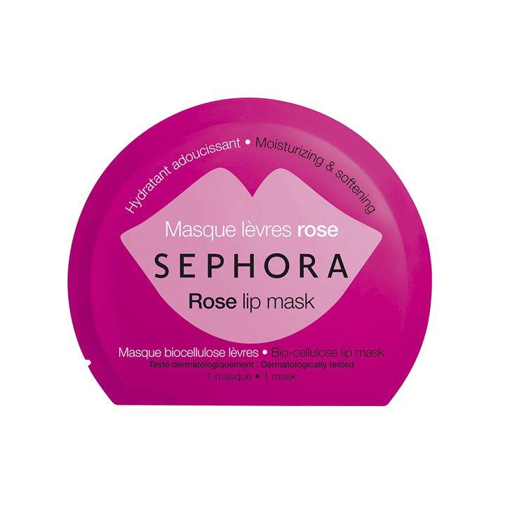 Mascarilla de labios Rosa de Sephora: productos cuidar piel frío
