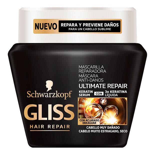 Mascarilla para el pelo Ultimate Repair Gliss