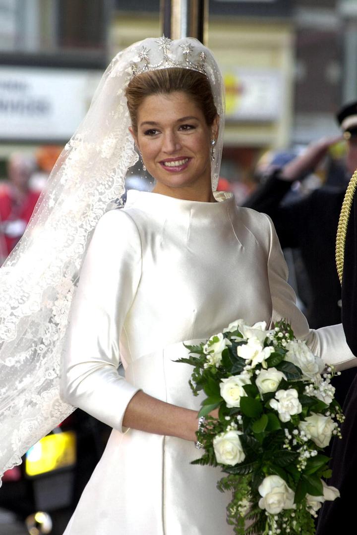 los vestidos de las princesas de valentino maxima de holanda