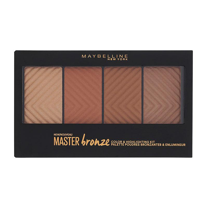 Master Bronzer Palette de Maybelline: productos contouring