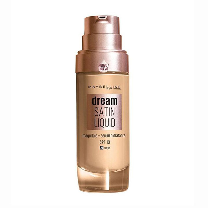 Dream Satin Liquid de Maybelline: bases de maquillaje 2019