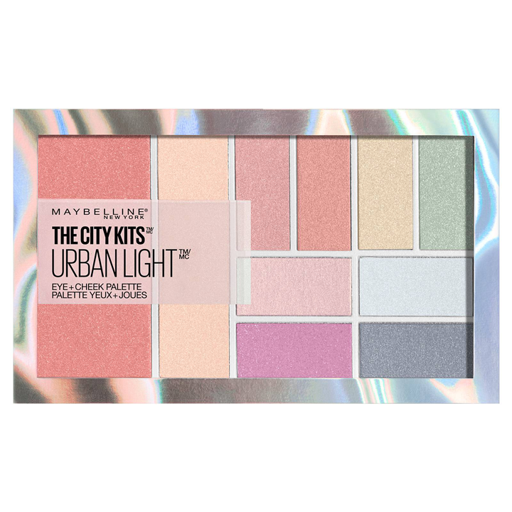 City Kits Urban Light Palette de Maybelline: como usar el iluminador