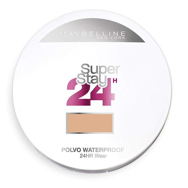 Polvos Superstay 24h de Maybelline: cosmética para deportistas