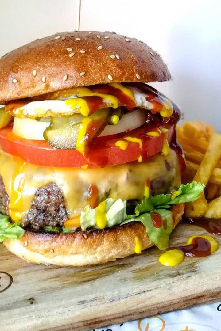 Maye's Bistró: hamburguesas de Madrid