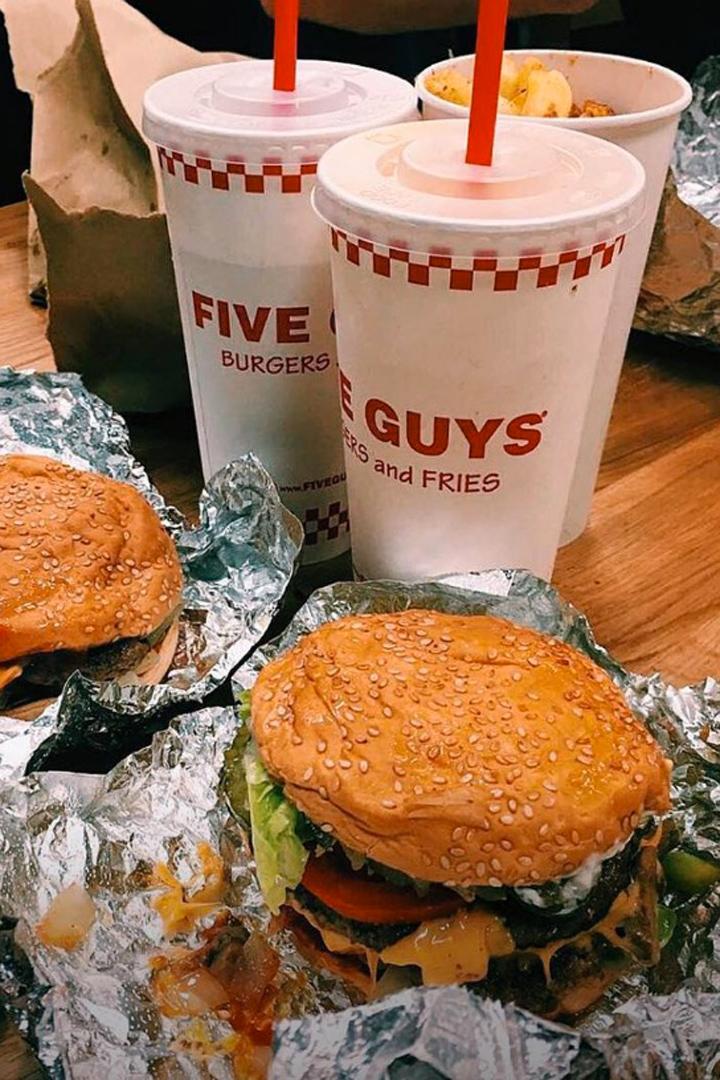 hamburguesas de Madrid five guys