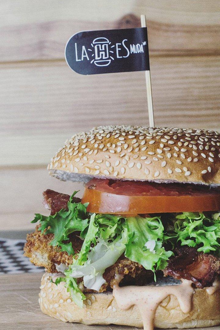 hamburguesas de Madrid h muda