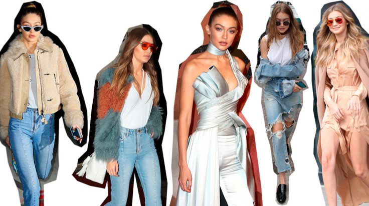 100 mejores looks de Gigi Hadid