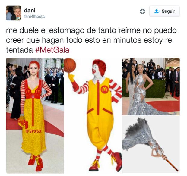 Selena Gómez también ha sido víctima de los memes. A ella le ha tocado ser el payaso de McDonald's