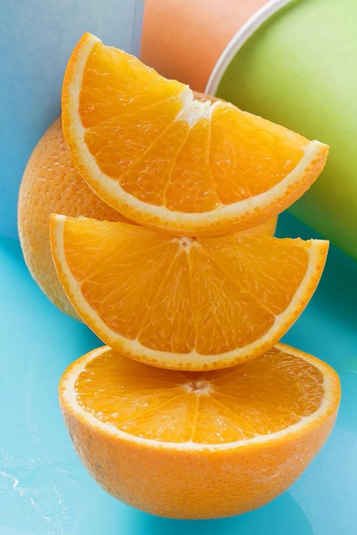 meriendas para niños zumo de naranja