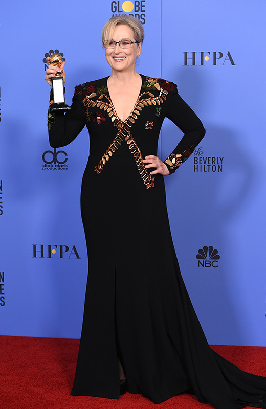 Meryl Streep Globos de Oro 2017